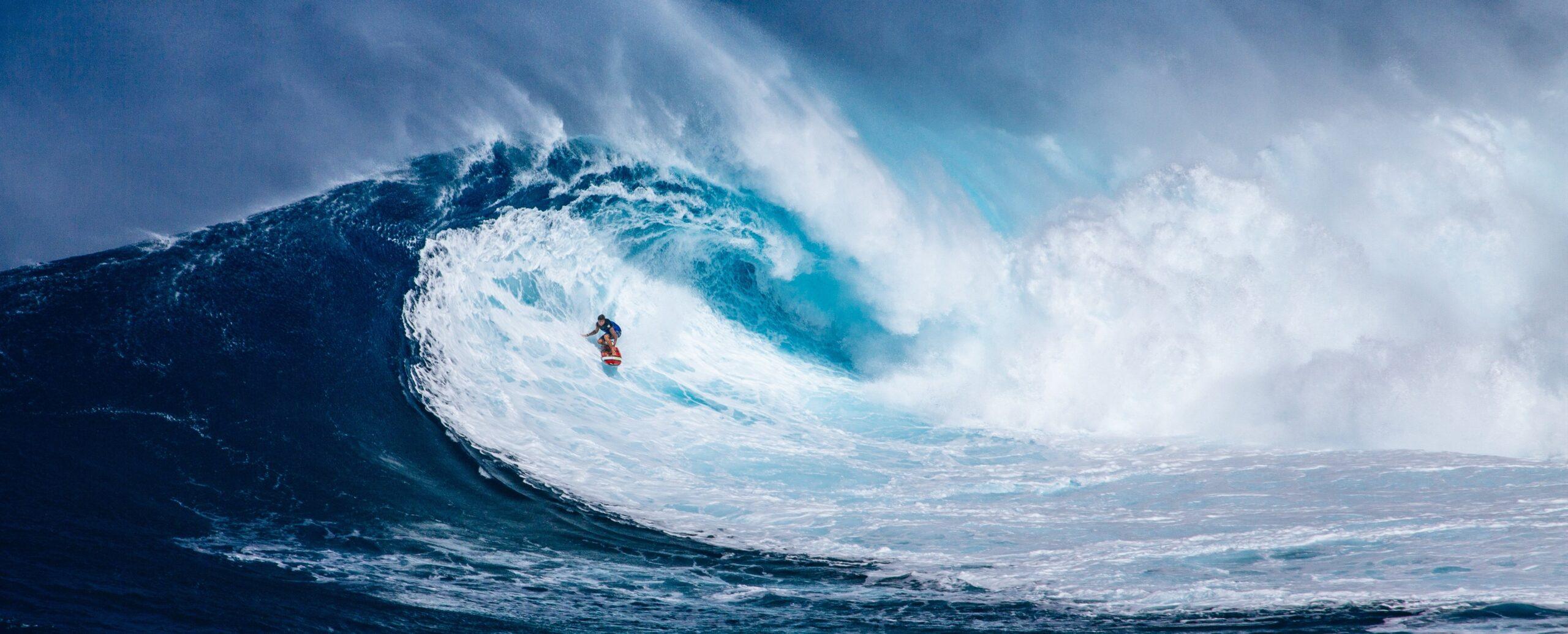 Positive News gegen Negativgefühls-Tsunami